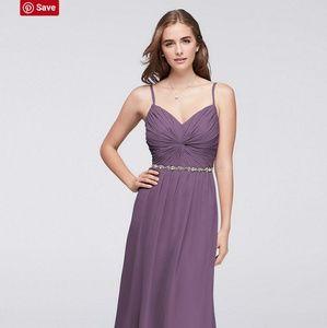 David's Bridal Dress - Wisteria Color 💃❤👗